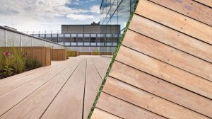 strong wood deck